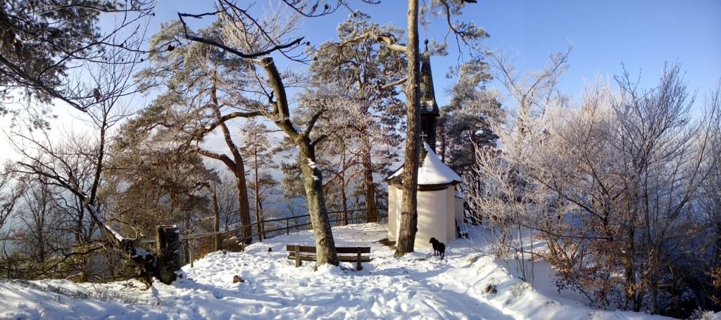 Kapelle See Winter